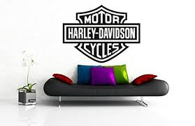 Harley Davidson Logo Motorcycles Room Garage Decor Original Unique