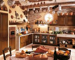 Adorable Design Of The Rustic Kitchen Ideas With Brown Wooden Cabinets And Island