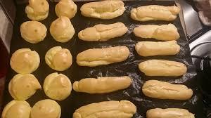 cuisine ch e clair le ricette di valentina pasta choux con il bimby per bignè ed