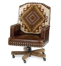Southwestern Furniture Old Hickory Rustic Ranch Style Great Office Chair