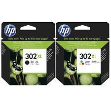HP 302XL Black Colour Original Ink Cartridge Combo Pack