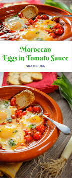 Moroccan Eggs In Tomato Sauce Shakshuka Is A Healthy Comfort Dish That Easy To Prepare It Tasty Option For Brunch Or Any Other Meal Of The Day
