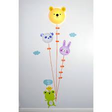 toise chambre bébé stickers chambre bébé toise avec le enfant sur rapid cadeau