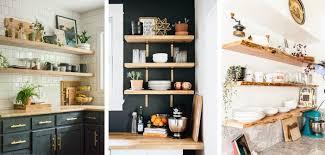 Open Kitchen Ideas 18 Best Open Kitchen Shelf Ideas And Designs For 2021