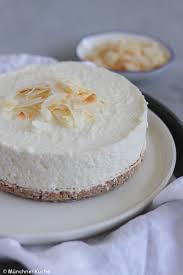 kokos cheesecake aus dem kühlschrank