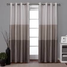 Joss And Main Curtains by Latitude Run Newton Striped Room Darkening Grommet Curtain Panels