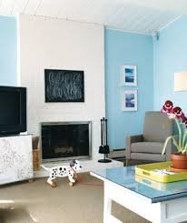 Living Room With Fireplace In The Middle by 14 Living Room And Dining Room Makeovers Real Simple