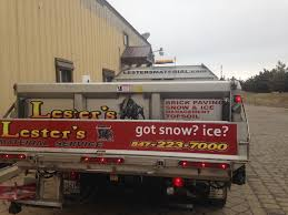 TG Signs | Lesters Material Service Small Dump Tailgate
