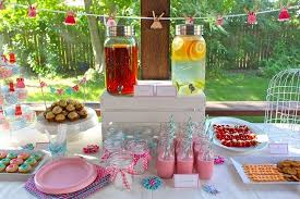 Spring Baby Shower Table