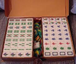 Weird smell ing off of tiles Mahjong