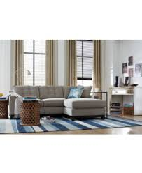 clarke fabric 2 piece sectional sofa furniture macy s
