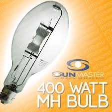 sunmaster 400 watt mh warm deluxe bloom bulb metal halide 400w w