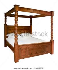 Four Poster Bed Stock Royalty Free & Vectors