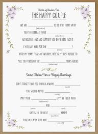 10 Creative Wedding Guest Book Ideas Mad Libs Free Printable