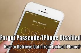 How to Recover Data from Passcode locked iPhone iPad