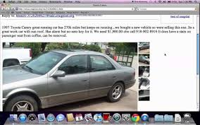 100 Cars And Truck For Sale By Owner Used S For By Craigslist Stunning Craigslist Tulsa