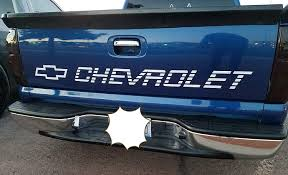 100 Chevy Truck Tailgate Amazoncom Matte Gold Chevrolet Decal For S Or