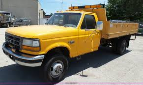100 Ford F350 Dump Truck 1994 Dump Bed Pickup Truck Item K5494 SOLD Ju