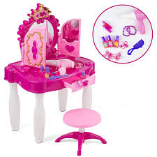Pretend Play Kids Vanity Table And Chair Beauty Mirror And ... Teddys Toy Box Highchair Childrens Kids Girls Pretend Play Baby Doll Feeding High Chair Trend Deluxe 2in1 Diamond Wave Walmartcom Evenflo 3in1 Convertible Dottie Lime Amazoncom Keekaroo Height Right Mahogany Quality Dollhouse Miniature Fniture Wooden 112 Safety 1st Wood Beaumont Wilko Bed And Swing Set Buy The Koodi Duo At Kidly Uk Find More Disney Princess For Sale Dolls Ojcommerce Luvlap 4 In 1 Booster Red