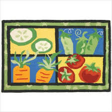 Vegetable Themed Kitchen Decor