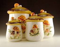 Ceramic Kitchen Canister Sets A Collected Ceramic Kitchen Canisters Kitchen