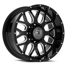 AE Exclusive! AE Hardrock - Series 5138 - Gloss Black & Milled ... Konig Centigram Wheels Matte Black With Machined Center Rims Amazoncom Truck Suv Automotive Street Offroad Ultra Motsports 174t Nomad Trailer Eagle Alloys Tires 023 Socal Custom Ae Exclusive Hardrock Series 5128 Gloss Milled Part Number R29670xp A1 Harley Fat Bob Screaming Vance Hines Pro Pipe What Makes American A Power Player In The Wheel Industry Alloy 219real 6