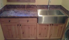 Stainless Steel Utility Sink With Drainboard by Cabinet Laundry Room Sinks With Cabinet Young At Heart Porcelain