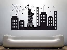 wandtattoo freiheitstatue 2 matt new york amerika