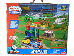 Thomas Tidmouth Sheds Deluxe Set by Deluxe Sodor Adventure Set Thomas And Friends Trackmaster Wiki