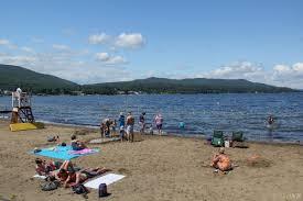 100 Million Dollar Beach Lake George See Swim