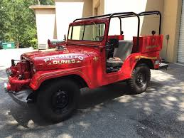 100 Brush Truck For Sale 1952 Jeep CJ Fire For Sale