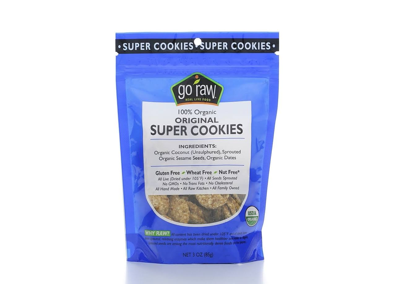 Go Raw Organic Sweet Crunch Sprouted Cookies