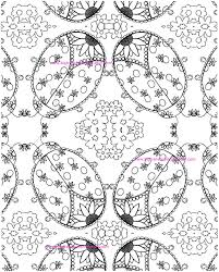 Adult Coloring Page Colouring Ladybugs Hand Drawn