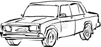 land transportation clipart black and white 9