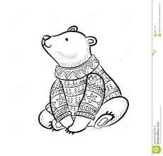 Unique Winter Sweater Coloring Pages Gallery