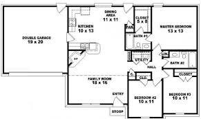 Smart Placement Story Car Garage Plans Ideas by Smart Placement 1 Story Ranch Style House Plans Ideas Building