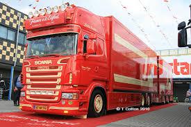 Dutch Flower Export Trucks