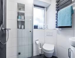 kleines bad mit dusche gestalten