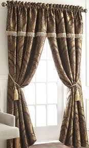 J Queen New York Alicante Curtains by Amazon Com Chezmoi Collection Seville 4 Piece Jacquard Green Gold