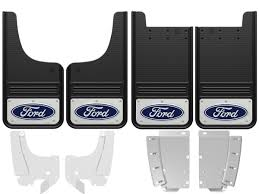 2015-2018 Ford F150 Blue Oval Gatorback Mud Flap Set - GB1223CUTF-C ... Mud Flaps For Lifted Truck And Suvs Ford Flaps 4051mr Airhawk Accsories Inc F150 Husky Kiback Autoeqca Cadian 52016 Custom Molded Rear Guards Review Install 52018 Blue Oval Gatorback Flap Set Gb1223cutfc Focus Rs 16 Rally Rblokz Or Weathertech Mud Diesel Forum Thedieselstopcom Built Tough On My 1995 F250 Psd Powerstroke Oem Splash Thumbs Up