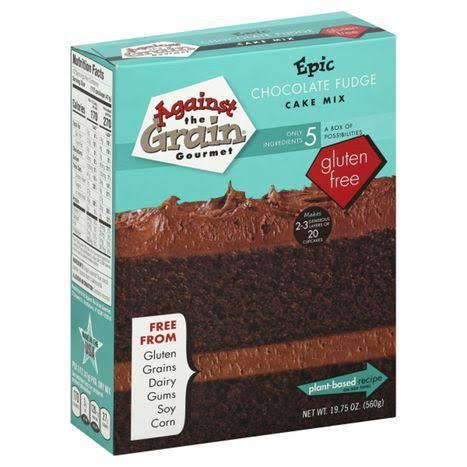 Against The Grain Gourmet Cake Mix, Epic Chocolate Fudge