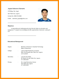 Example Of Resume For Ojt Sample Graduate Objectives In Business Administration Student Necessary Although