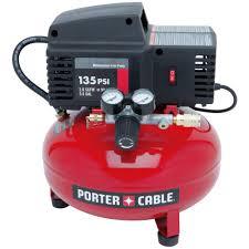 Porter Cable 3 5 Gal 35 PSI Pancake Electric Air pressor