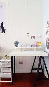 Diy Floating Desk Ikea by Diy Ikea Hack Children U0027s Lack Desk And Standing Office Desk