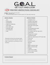 100 Truck Inspection Checklist ATSs New PreTrip American Showrooms