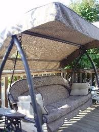 Patio Swings With Canopy Replacement by Costco Canada Itm 209282 Canopy