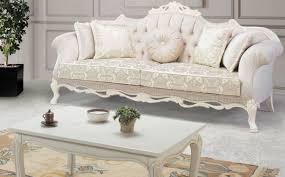 casa padrino luxus barock massivholz couchtisch weiß beige 125 x 50 x h 55 cm wohnzimmertisch im barockstil