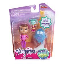 Vampirina Poppy y Demi Figuras Vampirina y sus Amigos