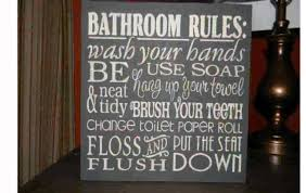 Primitive Bathroom Design Ideas by Wooden Home Decor Signs Qdpakq Com