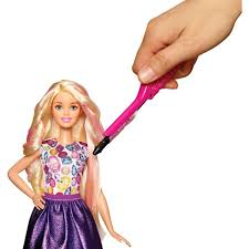 Buy Barbie Hair Feature Doll Online At Low Prices In India Amazonin